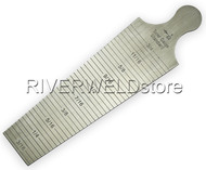 Welding taper Gauge 30-45mm Welding Inspect Both inch and Metric