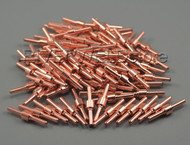 100pcs Extended Long Electrodes Fit 30/40A PT-31 LG-40 Air Plasma cutter Torch