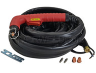 S45 Air Plasma cutting hand torch Complete 6 Meter