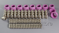 90pcs SG-55 AG-60 Plasma Cutter consumables KIT 50/60A Tips Electrodes & Shield Cups
