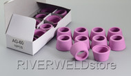 20pcs SHIELD CUPS FOR SG-55 AG-60 Plasma Cutter Torch 50/60A