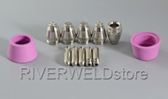 12pcs SG-55 AG-60 Plasma Cutter consumables Tips plasma cut 50 40/60A