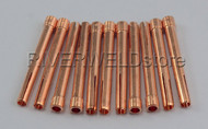 "54N20 5/32"" 4.0mm TIG Collets Fit DB PTA SR WP17 18 26 TIG Welding Torch, 10PK"