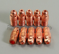 "13N28 2.4mm 3/32"" TIG Collet Body Fit SR PTA WP-9 20 25 TIG Welding Torch 10PK"