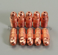 "13N27 1.6mm 1/16"" TIG Collet Body Fit SR PTA WP-9 20 25 TIG Welding Torch 10PK"