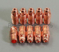 "13N27X 2.0mm 5/64"" TIG Collet Body Fit SR PTA WP-9 20 25 TIG Welding Torch 10PK"