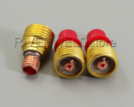 "45V43 1/16"" 1.6mm TIG Gas Lens Collet Body Fit SR DB PTA WP-9 20 25 Torch 3PK"