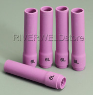 796F77 6L# Long Alumina cups Nozzles Fit DB WP SR 9- 20 25 TIG welding Torch 5PK