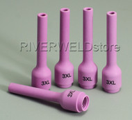 796F74 3L# Long Alumina Cups Nozzles Fit DB WP SR 9- 20 25 TIG Welding Torch 5PK