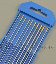"1.5% Lanthanated TIG Welding Tungsten Electrodes Assorted Size 1/16"" (5pcs) & 3/32"" (5pcs)"