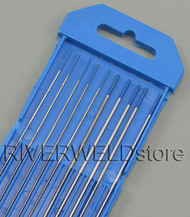 "2% Lanthanated Skyblue TIG Tungsten Electrode Assorted Size .040""(5pcs) and 1/16""(5pcs)"