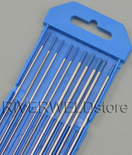 "2% Lanthanated Sky Blue TIG Tungsten Electrode Assorted Size 1/16""(5pcs) and 3/32""(5pcs)"