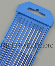 "2% Lanthanated WL20 TIG Tungsten Electrode Assorted Size 0.040""-1/16""-3/32""-1/8"",10pcs"