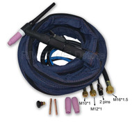 WP18-12 Water Cooled WP-18 SR-18 TIG Welding Torch 12 Feet