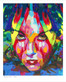 """Shop for """"Devine Feminine Rising"""" a limited edition print by San Francisco gay artist Donald Rizzo. Abstract verism in kaleidoscopic visions of vibrant colors."""