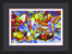 """I'm offering a framing option by utilizing Gallery XO, in Wilton Manners, Florida, currently with a Black Matt Finished Frame.  1 3/4"""" wide and 3/4"""" deep with Regular Glass with single black mat with white core; Museum Glass or UV Lucite with single black mat with white core; Regular glass with single black color core mat; Museum Glass or UV Lucite with single black color core. Frames are assembled, wired and the work is ready to hang!"""