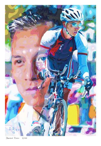 Shop for Gay Male Art Crossing the Finishline Print a limited edition print by San Francisco artist Donald Rizzo. Donald Rizzo paints optical illusions in a style call Ambiguous Delusions.