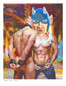 Shop for Gay Male Art Horny Devil Print a limited edition print by San Francisco artist Donald Rizzo. Donald Rizzo paints optical illusions in a style call Ambiguous Delusions.