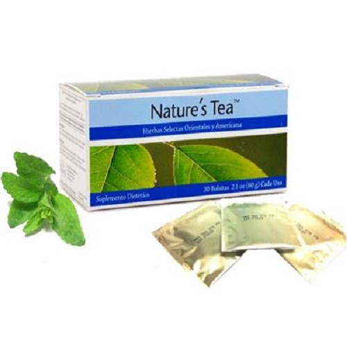 Nature's Tea Mylar Bags 30 Bags  24621