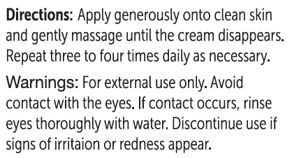 Unicity C M Cream #25369 Usage