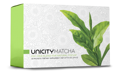 Unicity Matcha for Natural Focus