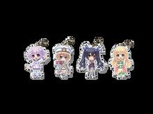Neptunia Acrylic Charms