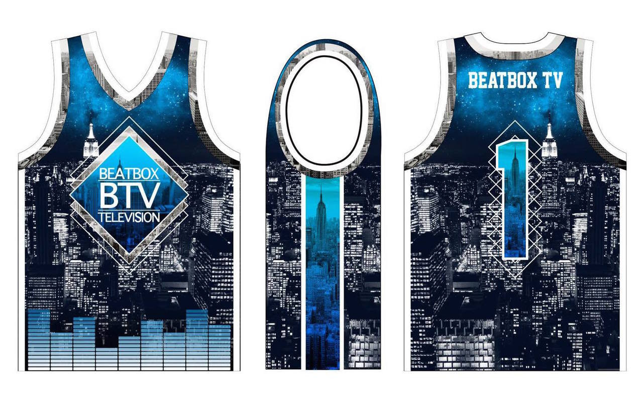 super popular 93342 a9c8b BTV New York Skyline Basketball Jersey
