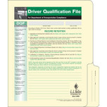 Driver Qualification File with Forms