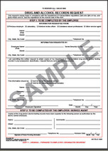 Alcohol & Drug Testing Record Request
