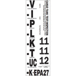 Cargo Tank Inspection Label