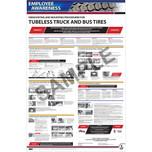 Poster-Demount/Mount Procedure-Tubeless Tires