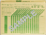 Vehicle Maintenance Report Standard File - Form 30