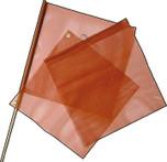 Warning Flag Nylon Mesh