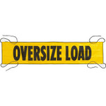 Yellow Oversize Load Sign - Nylon Mesh