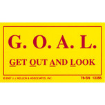 Get Out And Look (GOAL) Decal