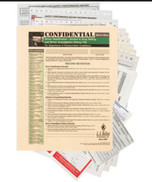 Confidential All-In-One Driver Qualification Packet (Single Copy)