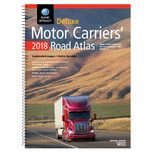 Rand McNally Deluxe Motor Carriers' Road Atlas Softbound 2019 Edition