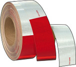 "3M Conspicuity Tape - 150' Rolll of 11"" Red/7"" White"