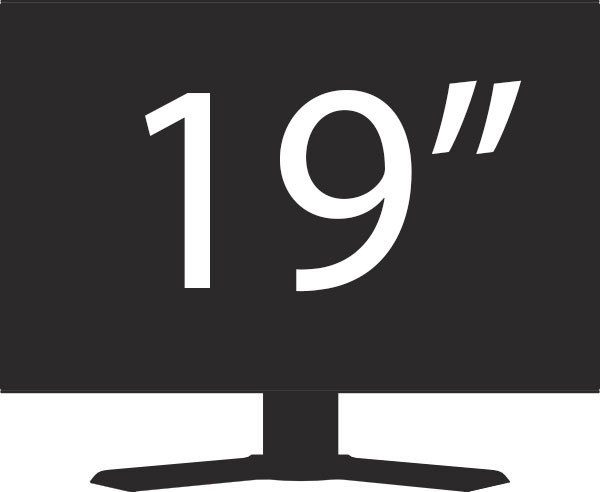 "Image result for 19"" monitor"