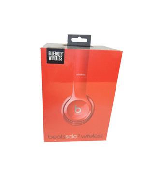 Beats - Glass Red Solo2 Wireless Headphones