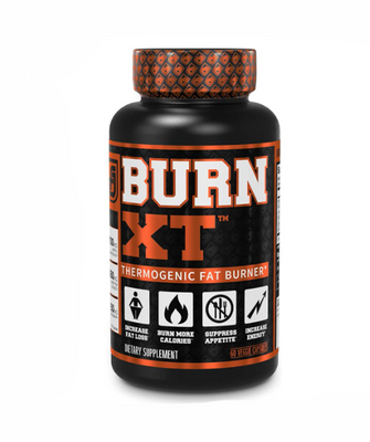 Jacked Factory BURN-XT Thermogenic Fat Burner Capsules - 60 Count, EXP:2/2023