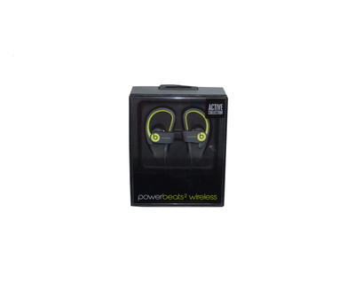 Beats - Yellow Powerbeats2 Wireless Over-Ear Headset