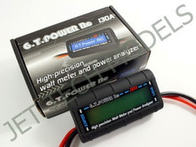 GT POWER 130A DC Watt Meter for EDF & Aircraft & Helicopter.