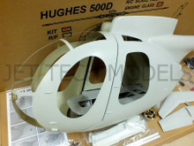 FUNKEY Scale fuselage HUGHES 500D .60 (700) size KIT (Unpainted Version)