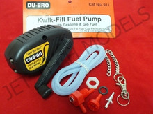 DU-BRO KWIK FILL FUEL PUMP ( Work with gasoline and Glo Fuel )