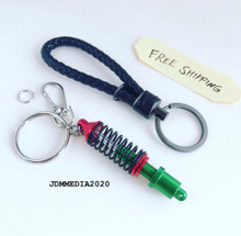 Coilover Damper Keychain Red & Black (FREE SHIPPING)