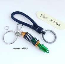 Coilover Damper Keychain Gold & Black (FREE SHIPPING)