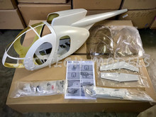FUNKEY Scale fuselage Hughes MD500E .50 (600) size  KIT (Unpainted Version) with Landing Skid