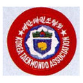 Patch KOREA TKD ASSOCIATION