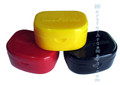 Mouth Guard Case - Black,Red,Yellow